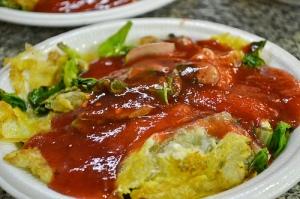 oyster omlette
