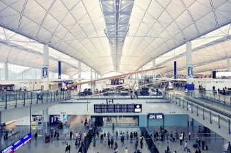 Hongkong Airport Terminal